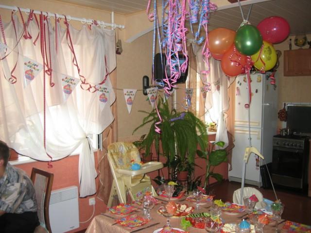 Украшения дома для праздника